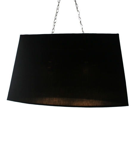 onyx black pendant light