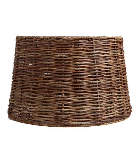 wood weave shade